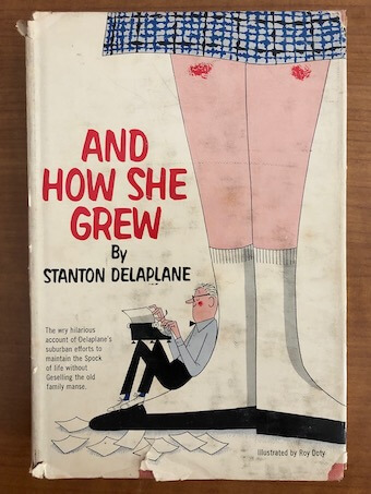 And How She Grew: front cover